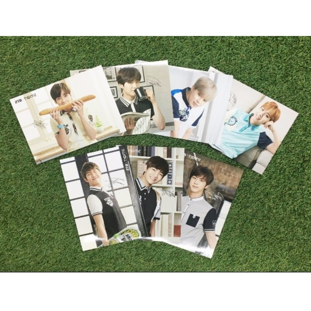 [READY STOCK] BTS Official Smart x BTS Postcards Ver. 2