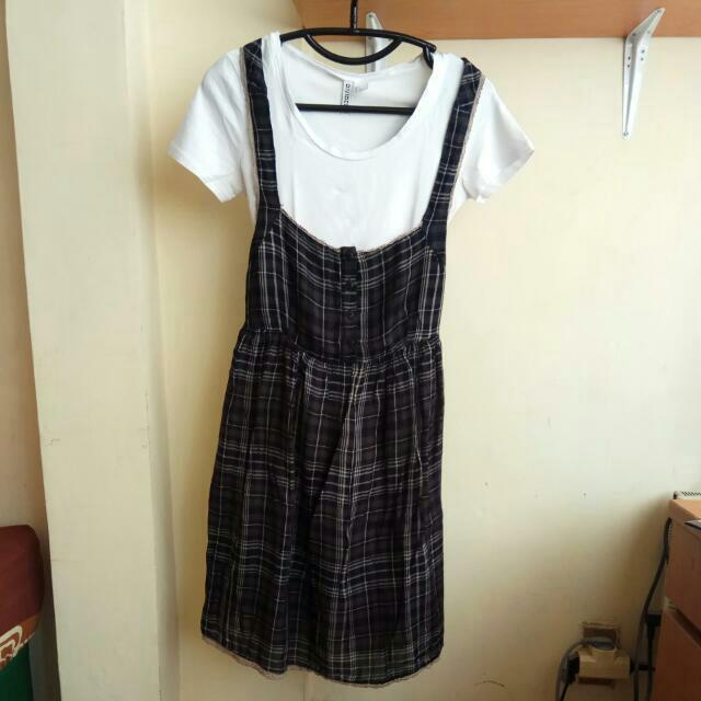 [REPRICE] ZARA Overall Dress