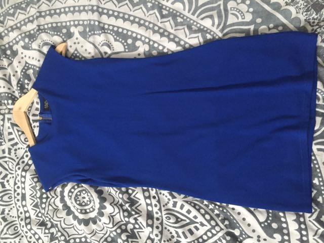 Rise Of Dawn Blue Mini Dress