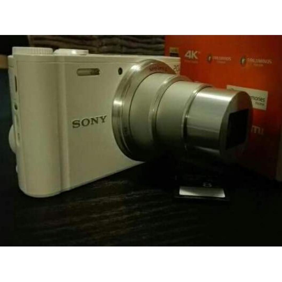 Sony Cybershot DSC WX350 18.2MP White