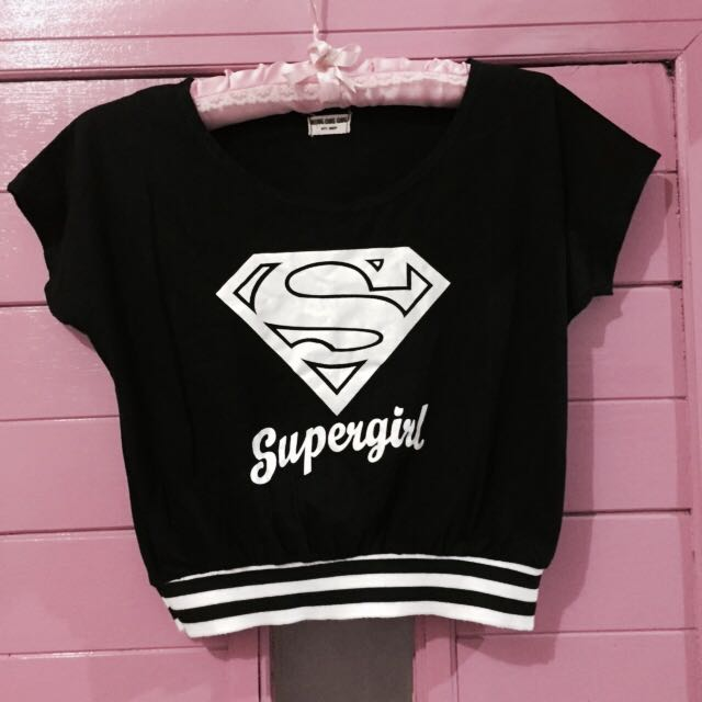 Supergirl's shirt