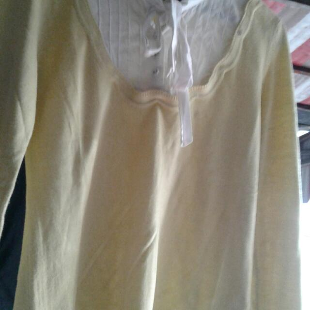 Sweater Ladispoli Yellow With Bow