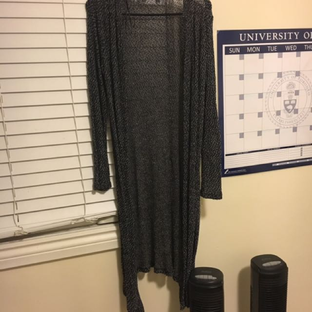 Thin Salt&Pepper Cardigan