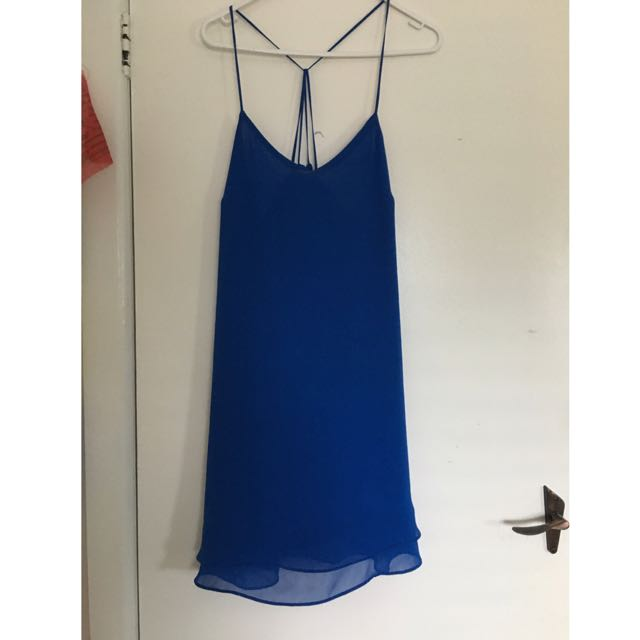 Top shop Blue Dress