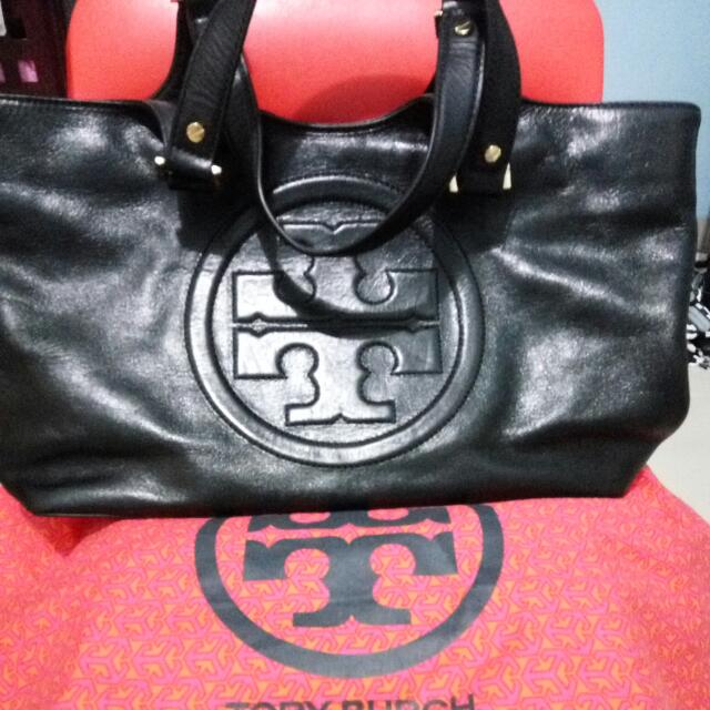 Torry Burch  Bombe burch tote Large All Leather
