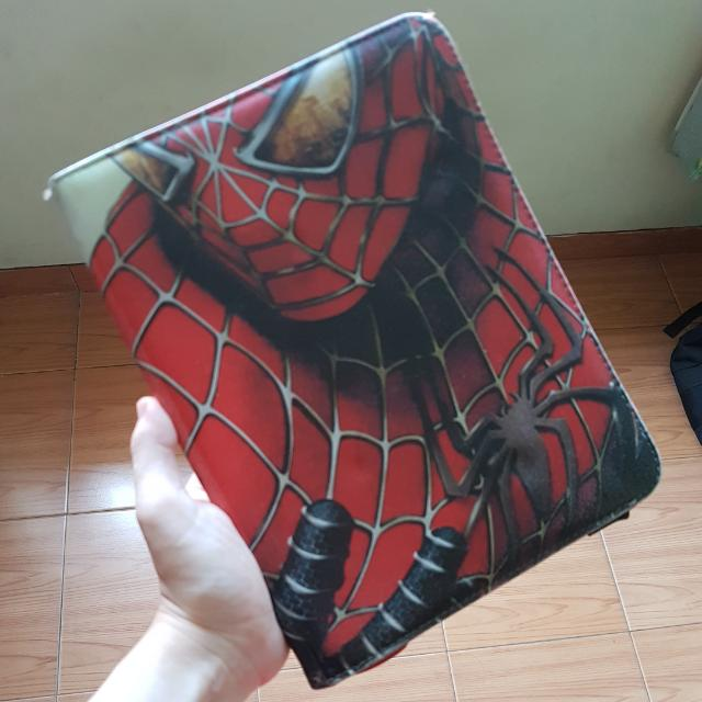 """Universal Magnetic Book Case Tablet 7"""" Spiderman"""