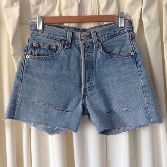 Vintage LEVIS 501 Denim Shorts