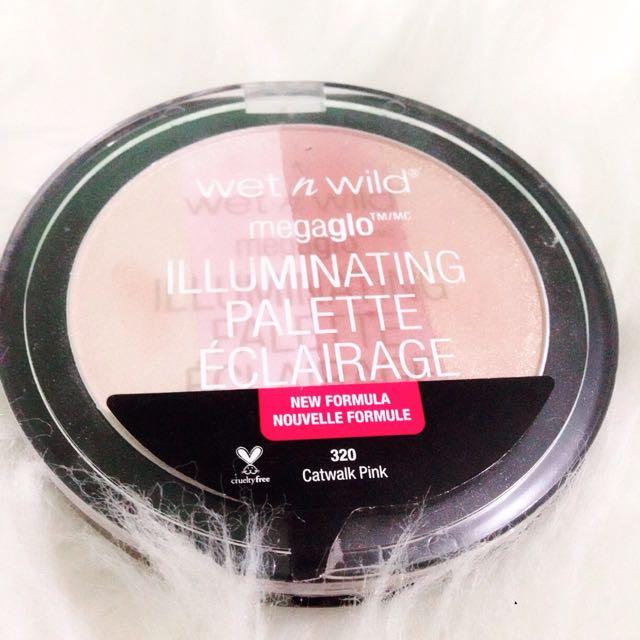Wet N Wild Megaglo - Catwalk Pink (highlighter)