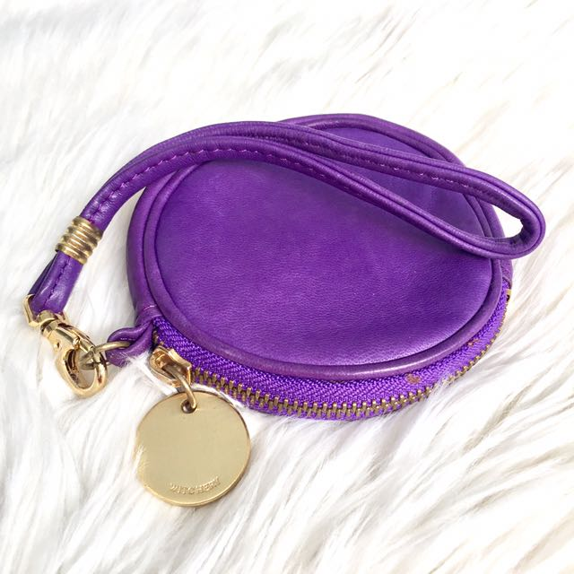 Witchery Leather Coin Purse