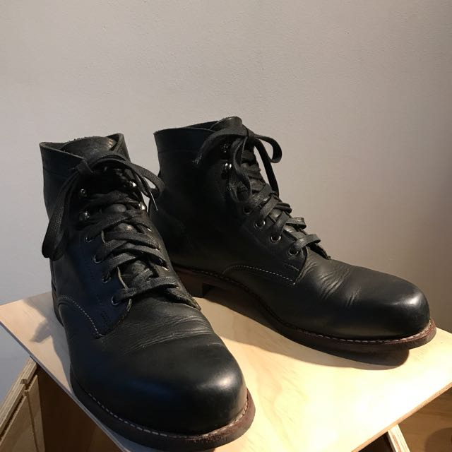 a8c84bb5be7 Wolverine 1000 Miles Morley Black Red Wing White's
