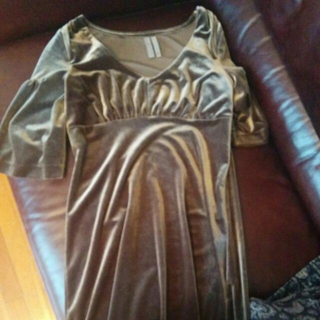 Women's Dress. Velvet.Xs