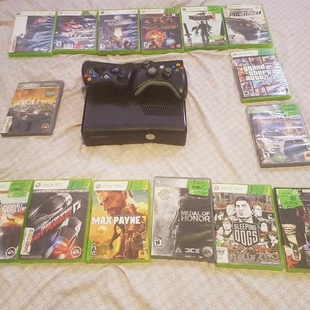 Xbox360 15 Games 2 Consolse