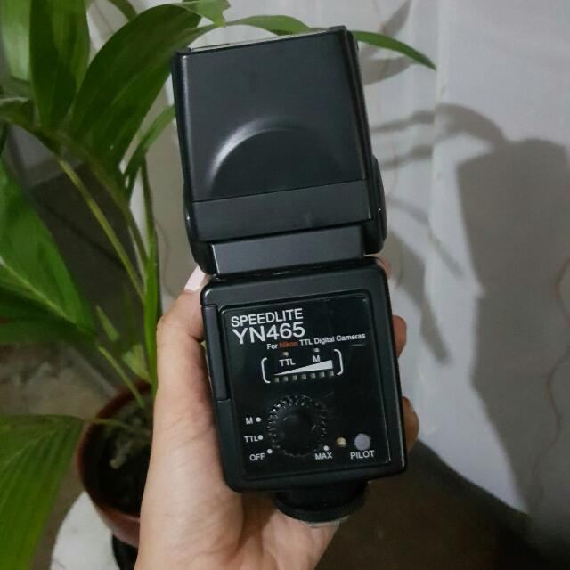 Yongnuo Speedlite YN465 SLR Flash
