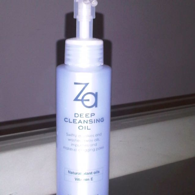 ZA Deep Cleansing Oil