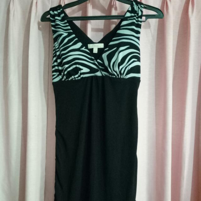 Zebra Mini Dress