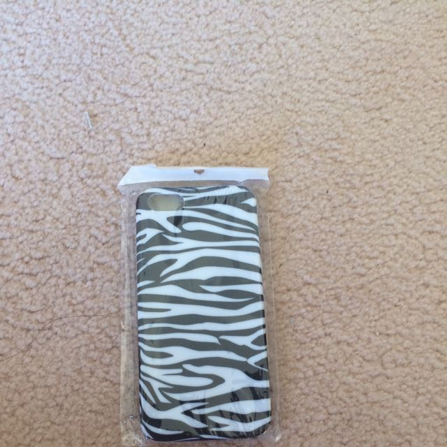 Zebra Print Pattern iPhone 5/5s/SE Case
