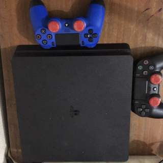 Ps4 Slim 500gb Jet Black Seri CUH 2006A