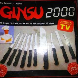 Ginsu Complete Knife Set