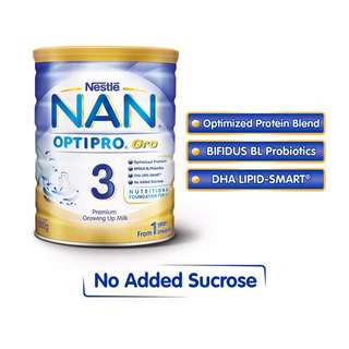 NESTLE NAN OPTIPRO Gro 3 Growing Up Milk 800 G 800 g