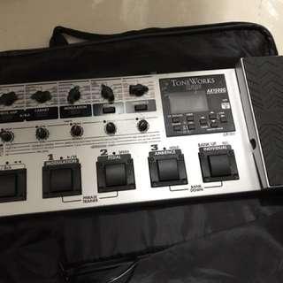 Korg Ax1500 Guitar Effect