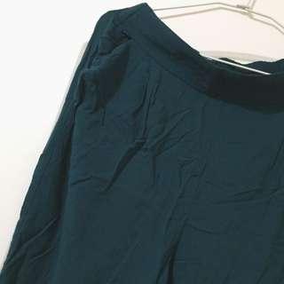 🚚 HM藍綠色老爺褲