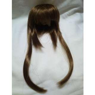 Dollheart出品 MSD BJD 4分娃用啡色假髮