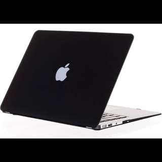 Macbook Matte Black Hard Case