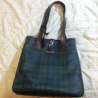 Polo Leather Large Tote Bag