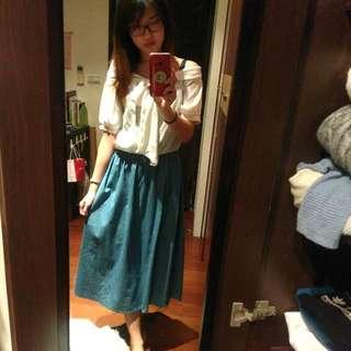 鄉村風長洋裝