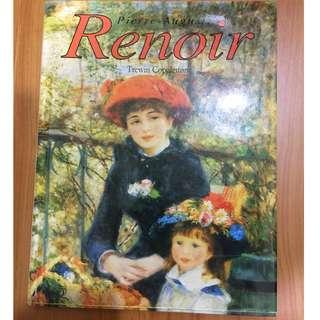 德國Taschen出版畫冊 印象派Renoir雷諾瓦作品集 英文版