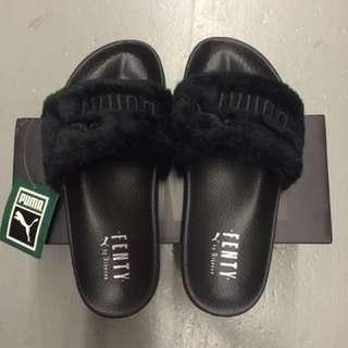 Puma Rihanna Fenty Fur Slides