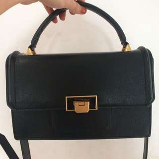 CHARLES & KEITH Small Flip-Lock Handbag (Original