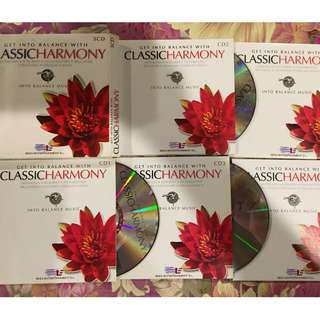Classic Harmony 5 cd set of classical music