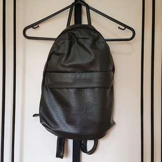 Small Backpack Faux Leather