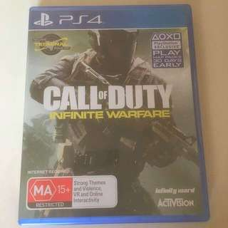 Call of Duty: Infinite Warfare - PS4 Game