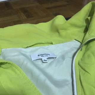 Aritzia Babaton Silk Jacket Size Large
