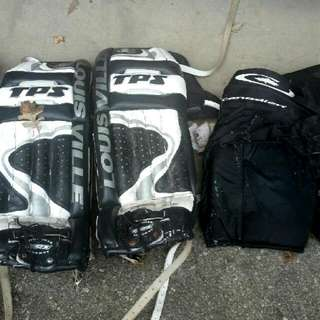 Ice Hockey Goalie Equipment