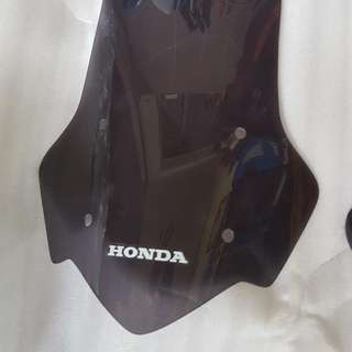 NC700X and NC750X 13'-15' Tall Windscreen (Fixed With OEM Bracket Only) for Sales