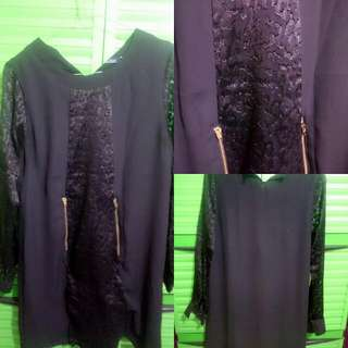 Dress Hitam Berrybenka Uk M