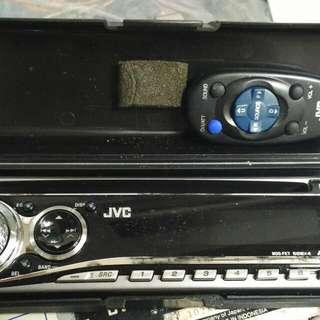 JVC 汽車 音響CD USB  Car stereo