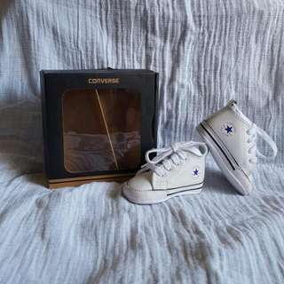Converse First Stars Baby Shoes