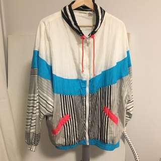 Vintage Colourful Windbreaker