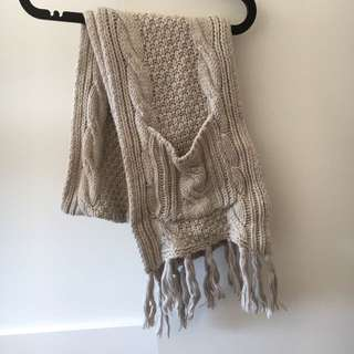 Seed Heritage Cable Knit Scarf