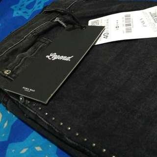 Zara man legend collection denim wear. Black Jeans