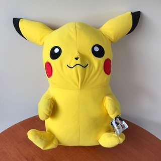 Giant Pikachu Plush