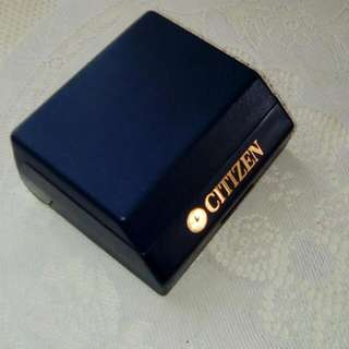 Vintage CITIZEN watch Box