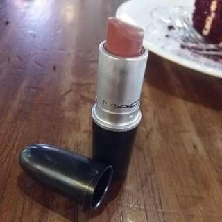 MAC Lipstick Kode Mocha 465 Warna Pink Krem Kondisi 70% Free Onkir