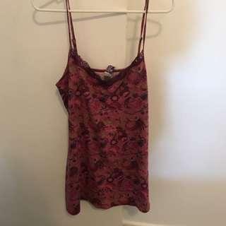 Undercover Wear Lace Neck Nightie Dress Size M