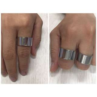 Cincin EDGE Style Ring Stainless steel