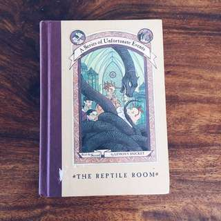 The Reptile Room: A Series Of Unfortunate Events